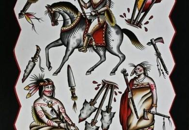 Southwest Native American Tattoo Designs