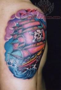 Pirate Tattoo Images & Designs