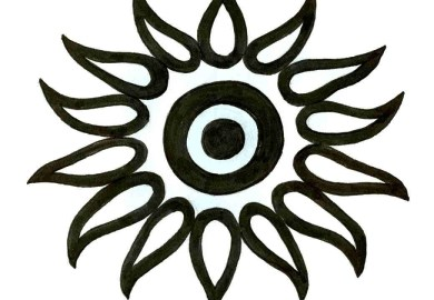 Black Sun Tattoo Designs