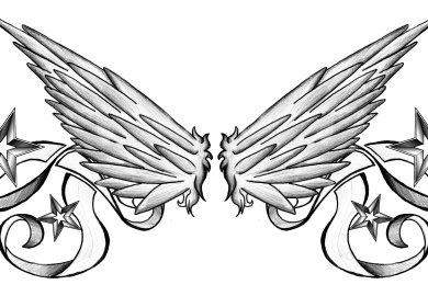 Star Lower Back Tattoo Designs