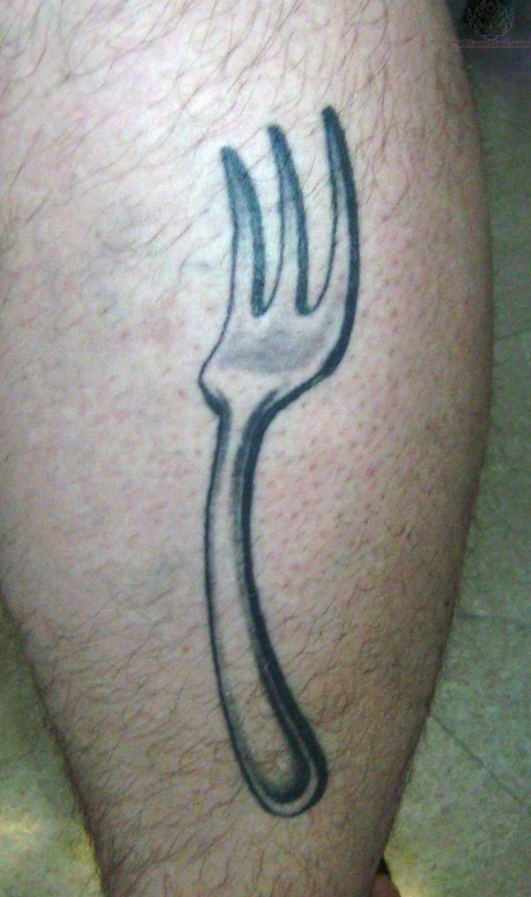 Sailor Fork Tattoos Legs