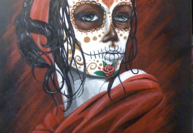 Lady Warrior Tattoo Designs