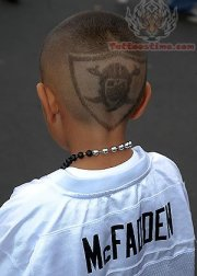 oakland raiders tattoo &