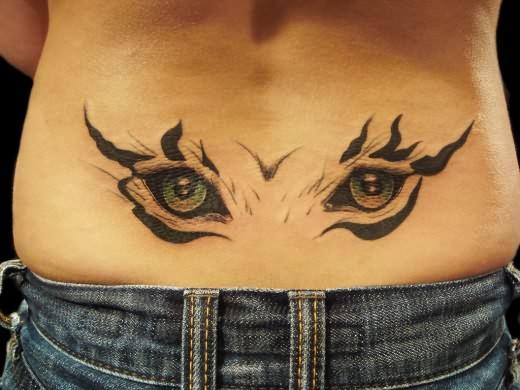 waist tattoo