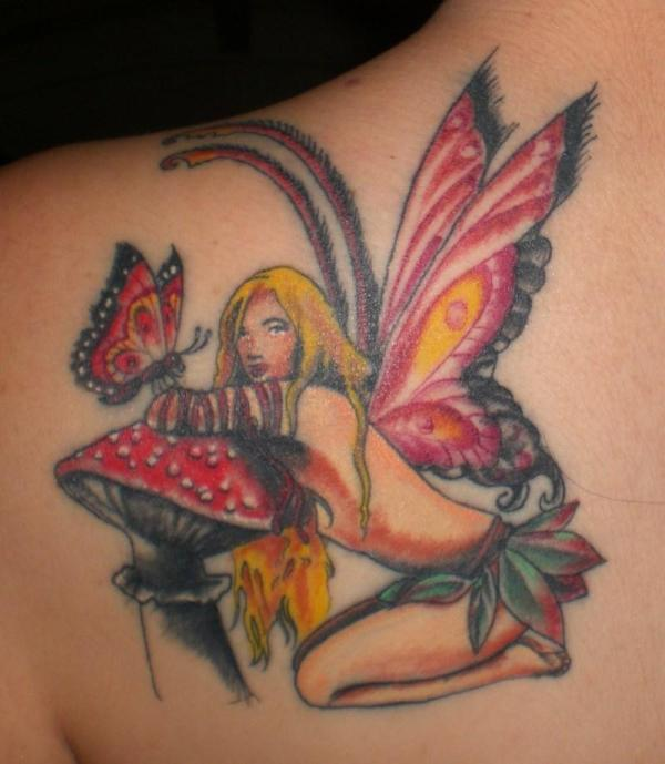 Butterfly Fairy Tattoos for Women