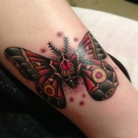 Moth Tattoo Images & Designs