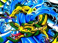 Dragon Tattoo Images & Designs