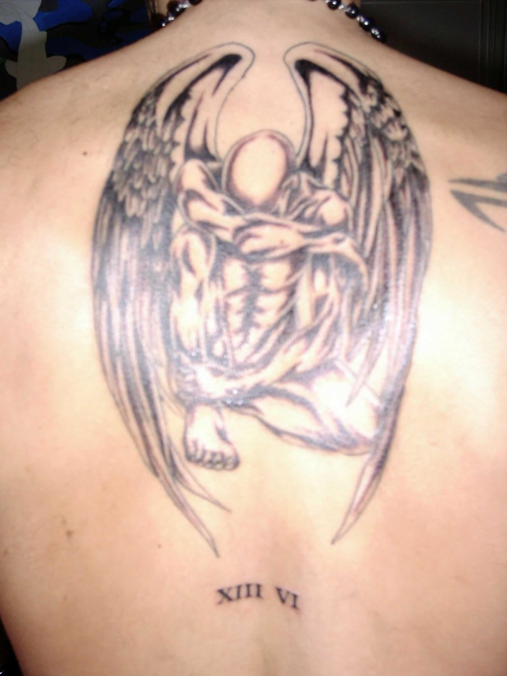 Wings Tattoo Cowboy