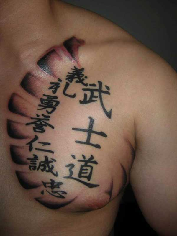 Japanese Symbol Tattoo Cover Up