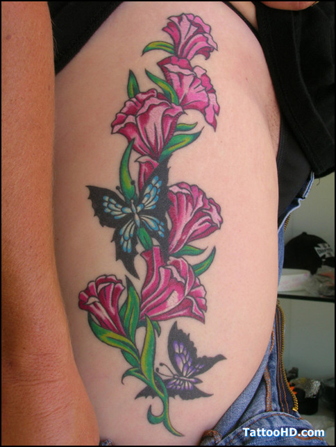 20 Arms Tattoos Flower Vine And Butterfly Ideas And Designs