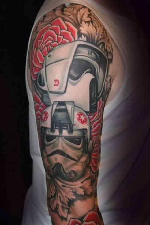Award Winning Tattoo Robot Sleeve