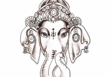 Ganesh Tattoo Design