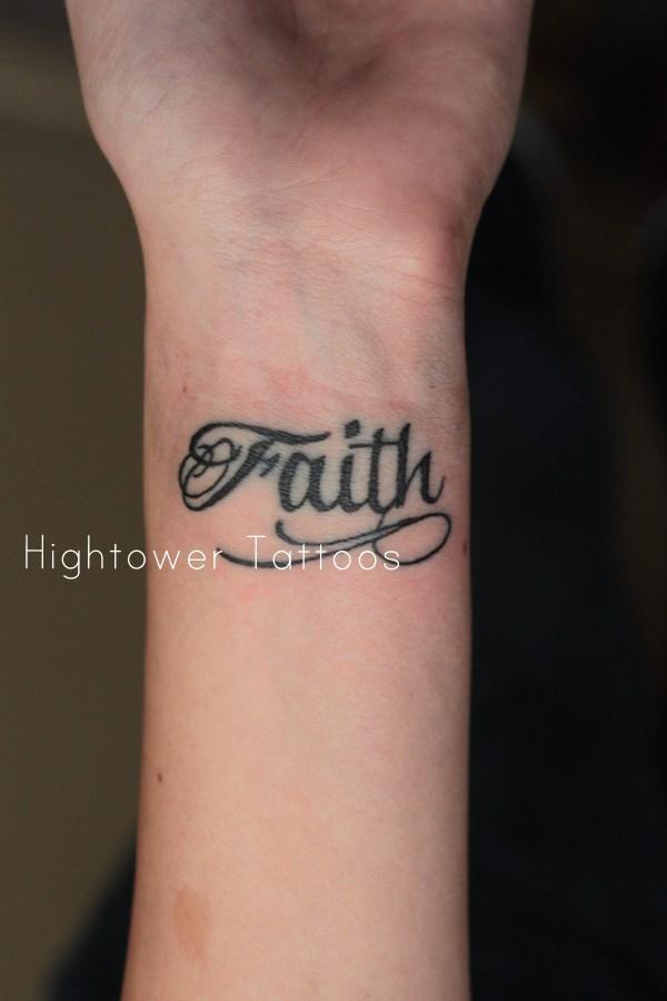 awesome faith tattoo