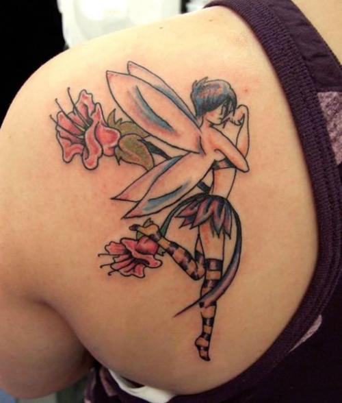 feminine tattoo & design