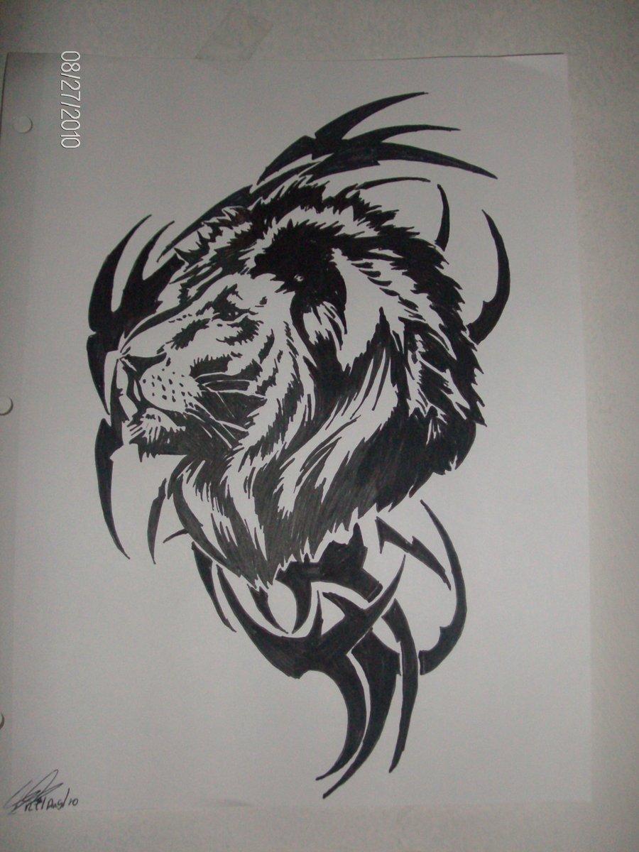 Rasta Lion Tattoo Designs