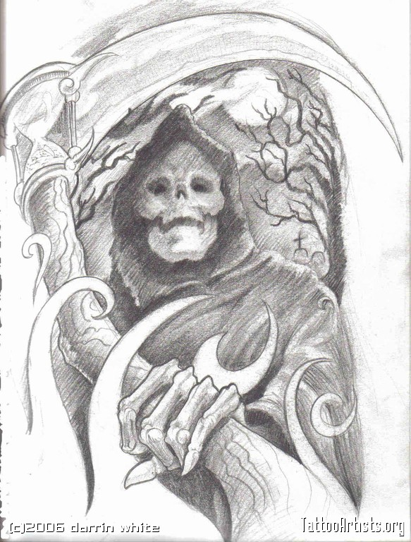 Steampung Girl Holding Skull Wallpaper Grim Reaper Tattoos Page 61