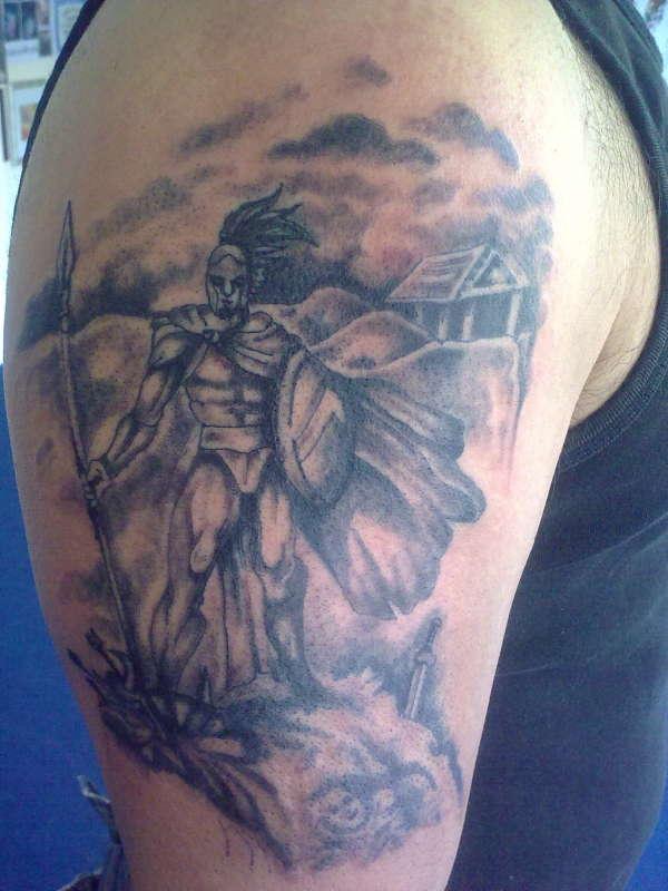 20 Greek Grey Half Sleeve Tattoos Ideas And Designs