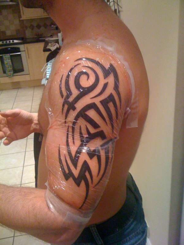 Arm Tattoos For Men Tribal