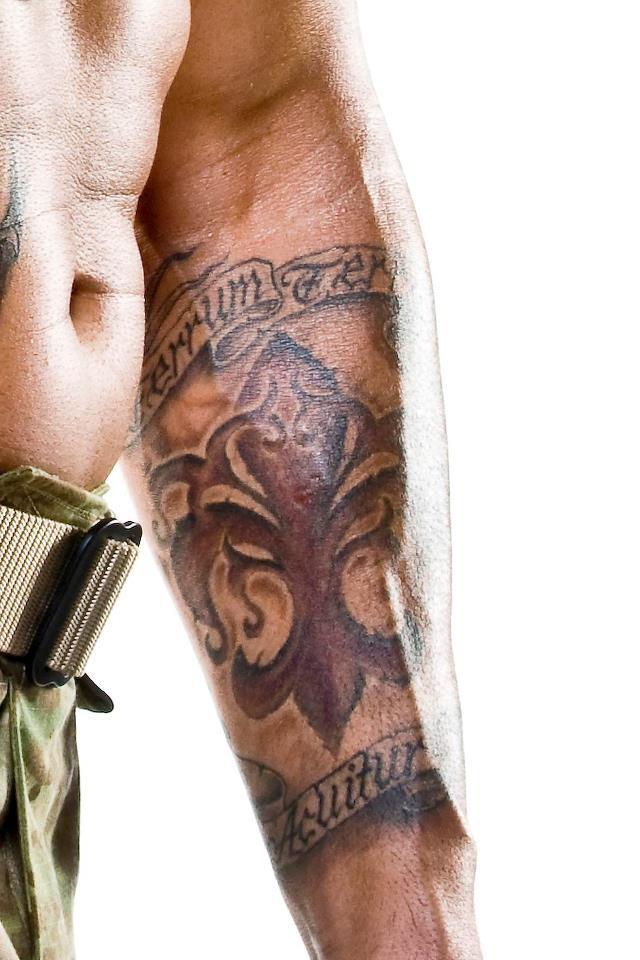 Fleur De Lis Tattoo Forearm