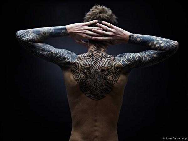 geometric tattoo & design