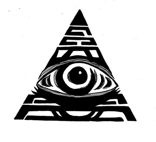 Illuminati Eye Tattoo Images Designs