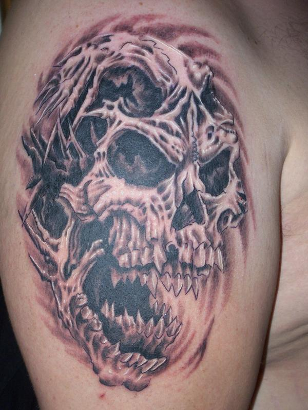 skull tattoo & design