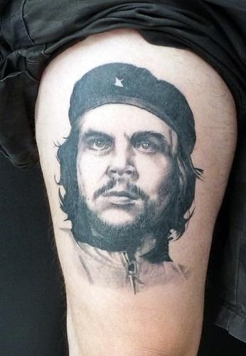 Che Guevara Name Tattoo