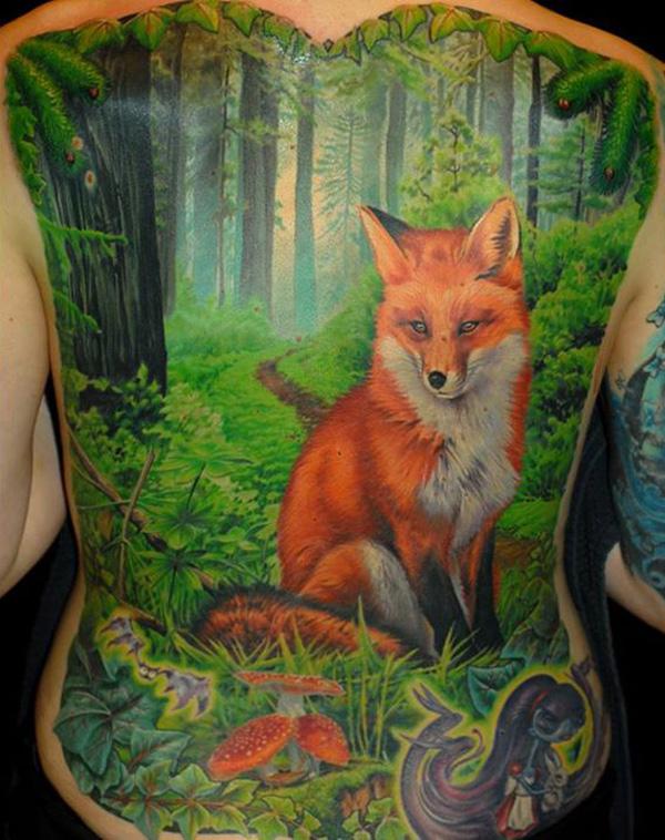 3d Celtic Cross Wallpaper Fox Tattoo Images Amp Designs