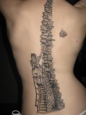 Spine Tattoo Images  Designs