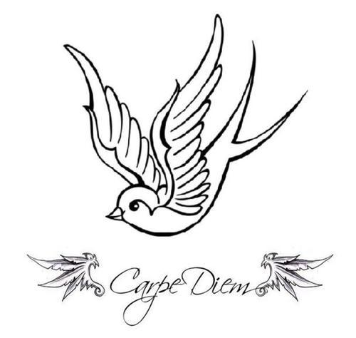 Unique Swallow Tattoo Designs