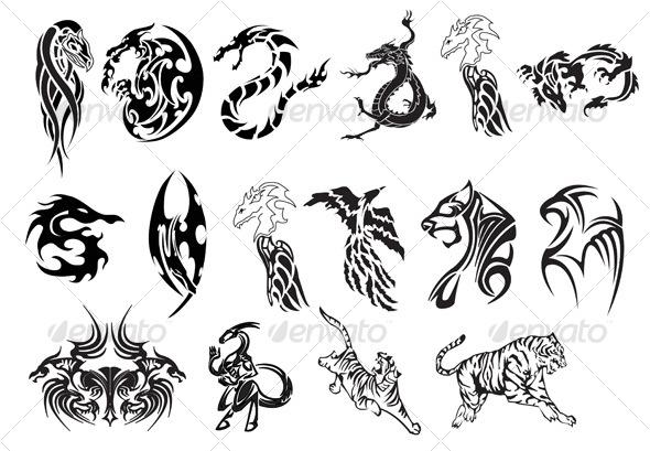 Animal Tattoo Images & Designs