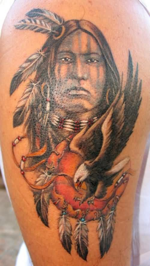 20 Native American Half Sleeve Tattoos Symbolizing Family Ideas And
