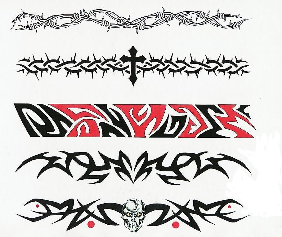 Tattoo Designs On Hand Band