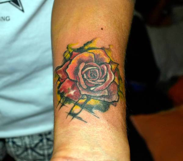 20 Wrist Tattoo Art Watercolor Pictures And Ideas On Meta Networks