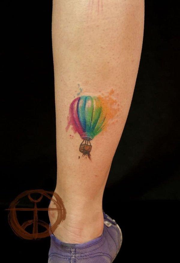 watercolor tattoo & design