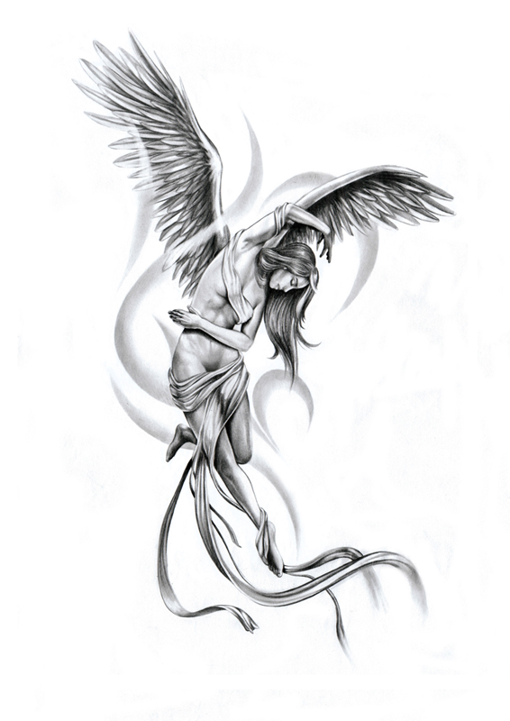 Angel Tattoo Images  Designs