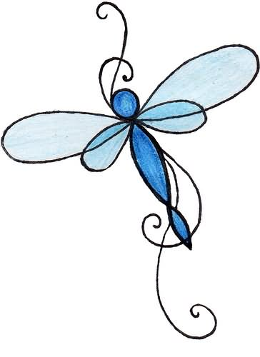 dragonfly tattoo & design