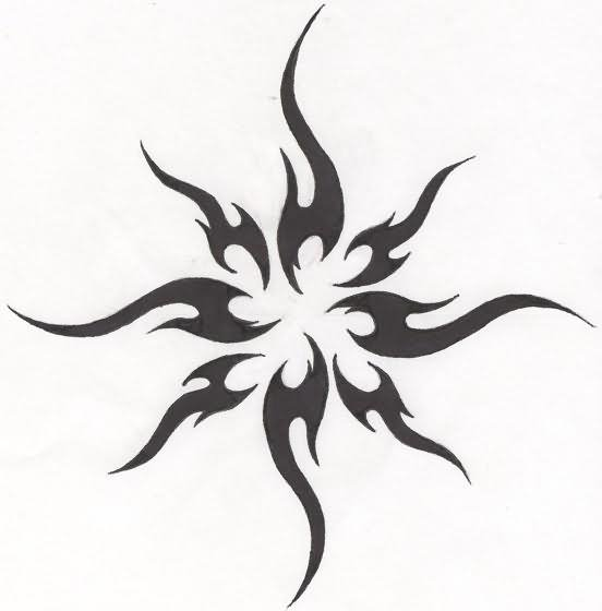 Simple Tribal Tattoo Designs For Women