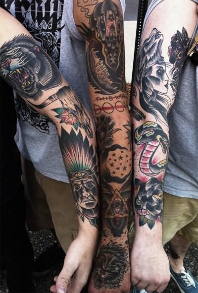 indian tattoo & design