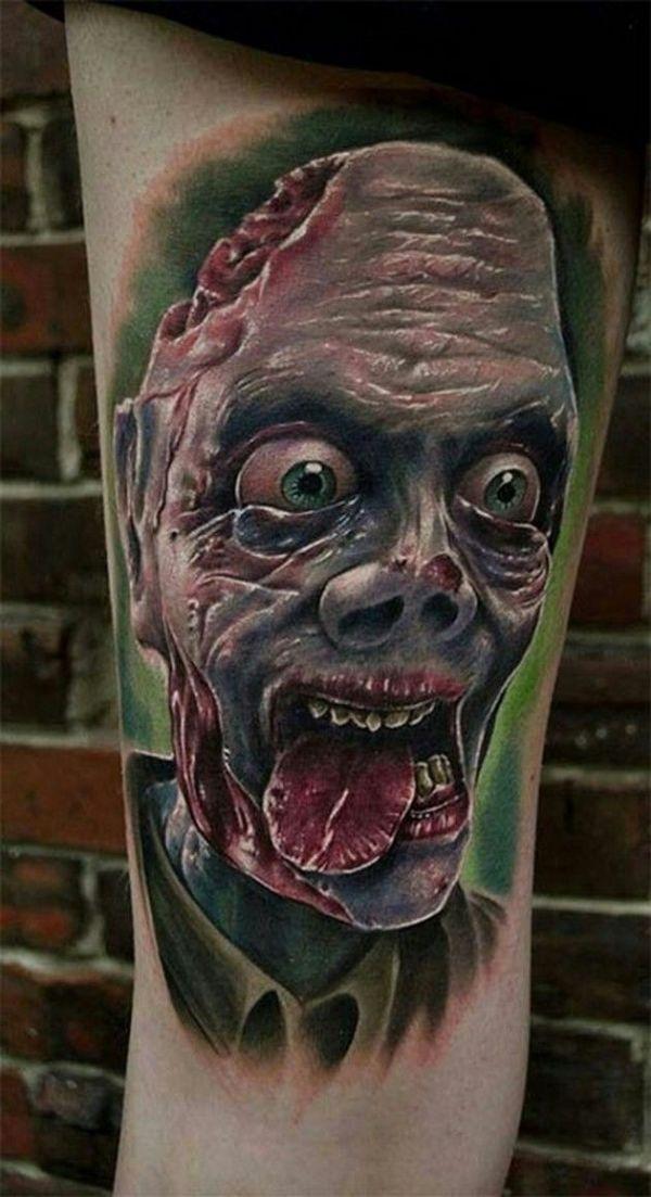 zombie tattoo & design