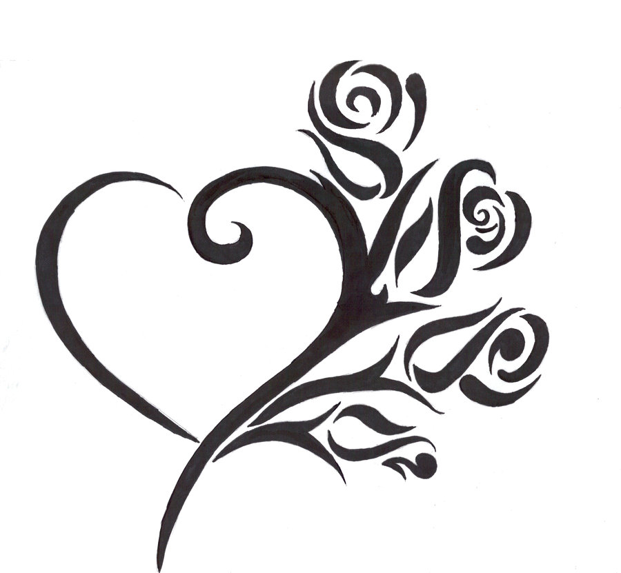 Heart Tattoo Images & Designs
