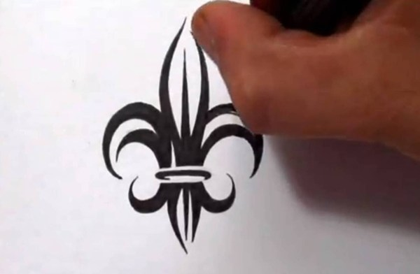 20 Abstract Fleur De Lis Tattoos Pictures And Ideas On Carver Museum