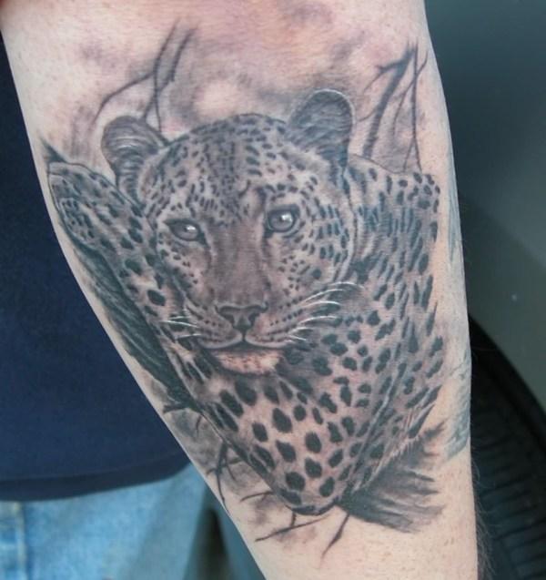 Snow Leopard Tattoo Designs