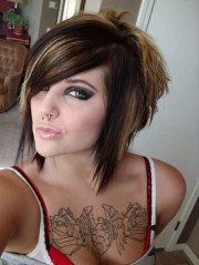 awesome tattoos chest girl