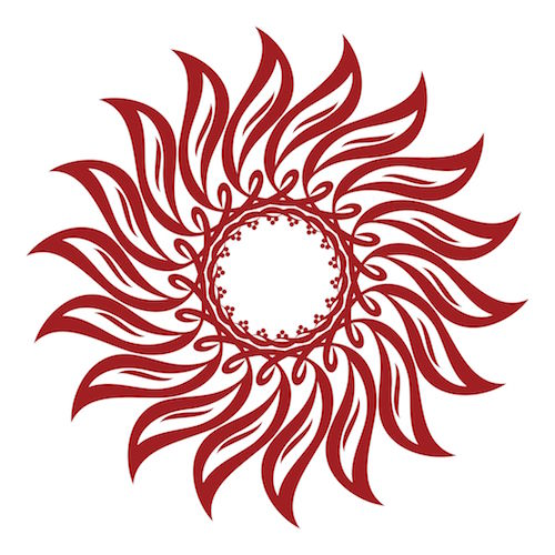 Celtic Tribal Sun Tattoo Designs