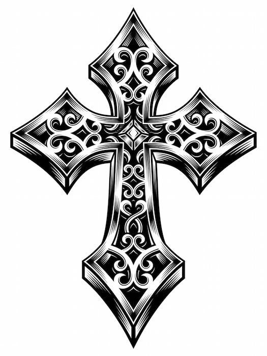 Cool Celtic Cross Tattoos