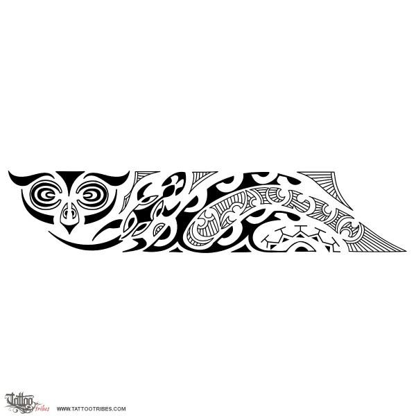 Simple Maori Armband Tattoo