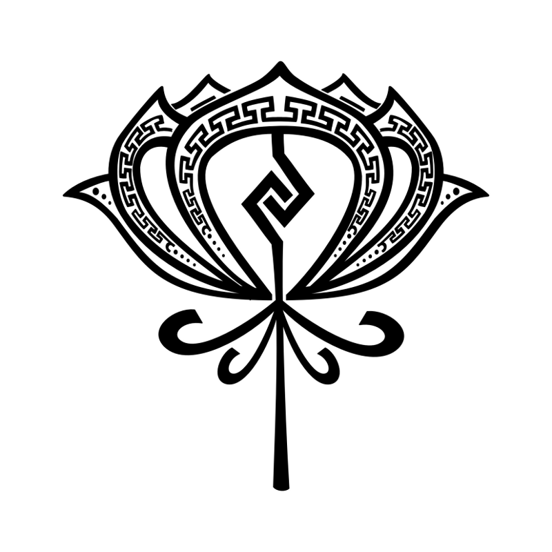 Buddhist Tattoo Image