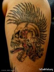 mohawk indian tattoos