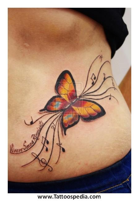 Lower Abdominal Tattoos